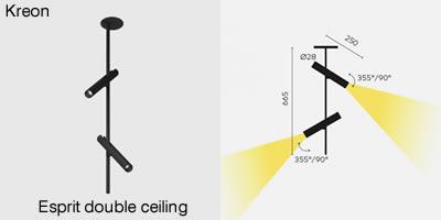 Kreon Esprit double ceiling