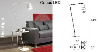 Linealight_Conus LED_Floor