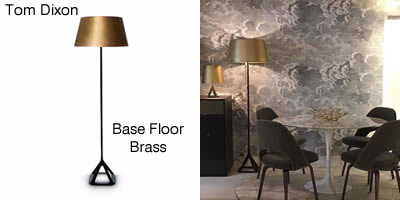Tom Dixon Base Floor Brass