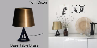 Tom Dixon Base Table Brass