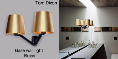 Tom Dixon Base Wall Brass
