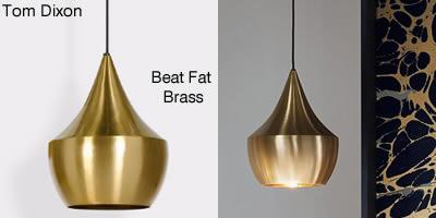 Tom Dixon Beat Fat Brass