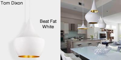 Tom Dixon Beat Fat white