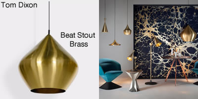 Tom Dixon Beat Stout brass