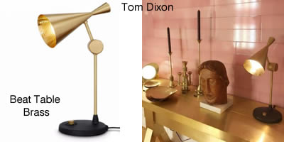 Tom Dixon Beat Table Brass