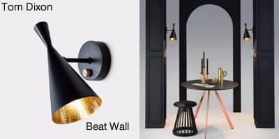 Tom Dixon Beat Wall Black