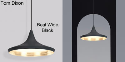 Tom Dixon Beat Wide Black
