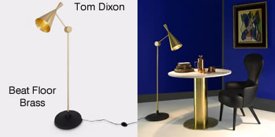 Tom Dixon Beat floor Brass