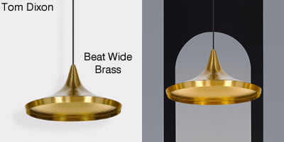 Tom Dixon Beat wide Brass