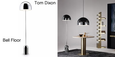 Tom Dixon Bell Floor Lamp Chrome