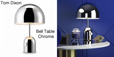 Tom Dixon Bell Table Chrome