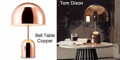 Tom Dixon Bell Table Copper