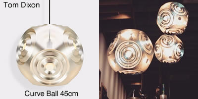 Tom Dixon Curve Ball 45cm
