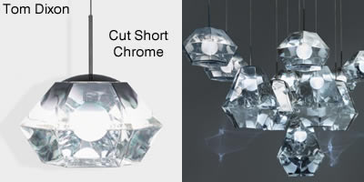Tom Dixon Cut Short Chrome