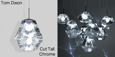 Tom Dixon Cut Tall Chrome