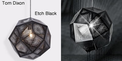 Tom Dixon Etch Black