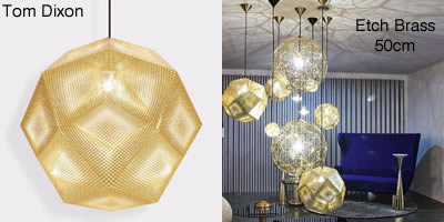 Tom Dixon Etch Brass 50cm