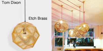 Tom Dixon Etch Brass