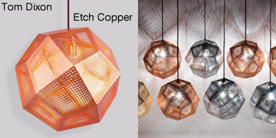 Tom Dixon Etch Copper