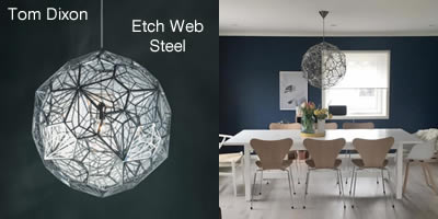 Tom Dixon Etch Web Steel
