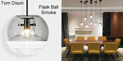 Tom Dixon Flask Ball Smoke