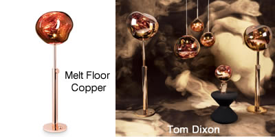 Tom Dixon Melt Floor Copper