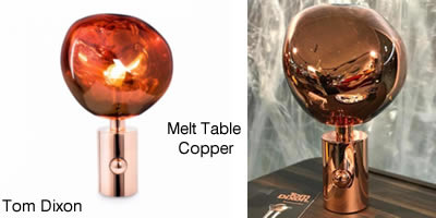 Tom Dixon Melt Table Copper