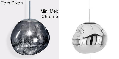 Tom Dixon Mini Melt Chrome