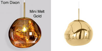 Tom Dixon Mini Melt Gold