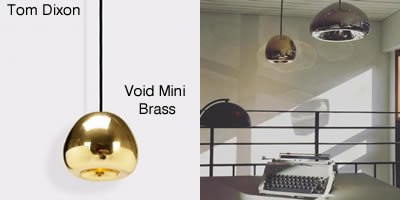 Tom Dixon Void Mini Brass