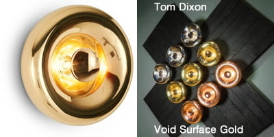 Tom Dixon Void Surface Gold