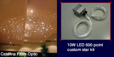 Catalina Fibre Optic_10W LED 500 Point Star Kit