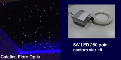 Catalina Fibre Optic_5W LED 250 Point Star Kit