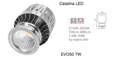 Catalina LED EVO50 TW