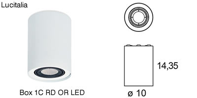 Lucitalia_Box 1C RD OR LED