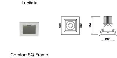 Lucitalia_Comfort SQ Frame
